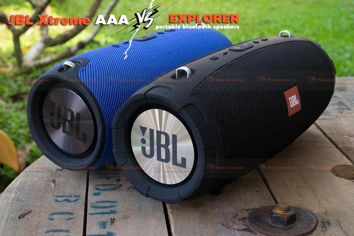 jbl extreme ก็อบ เปรียบเทียบ explorer 5