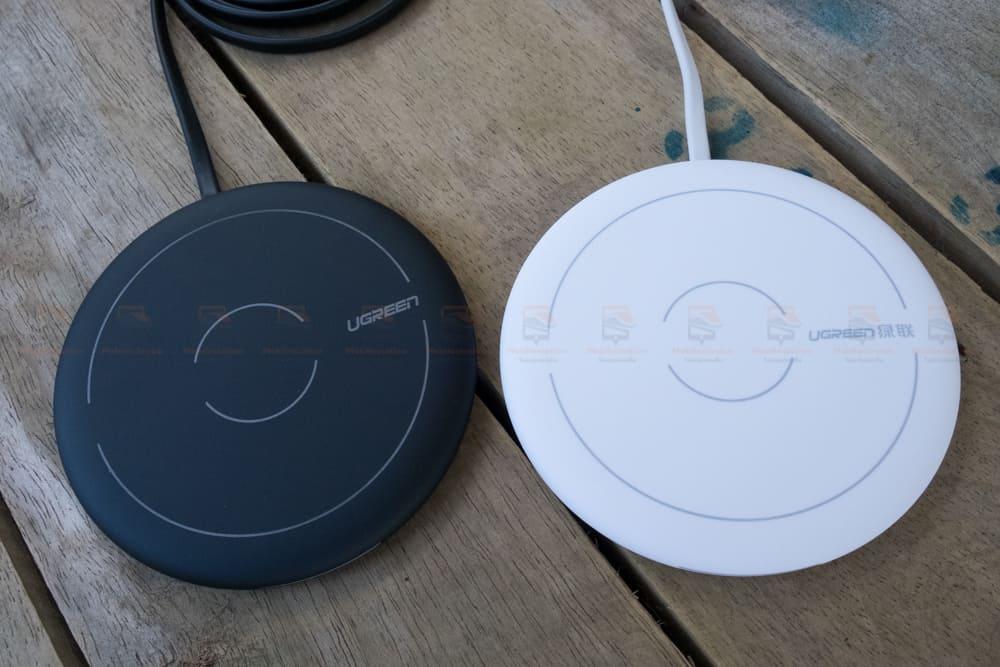 ที่ชาร์จไร้สาย Ugreen Wireless Charger for iPhone 8-X -8 Plus 10W Qi Fast Wireless Charging for Samsung Galaxy S8S_รูปจริง-12
