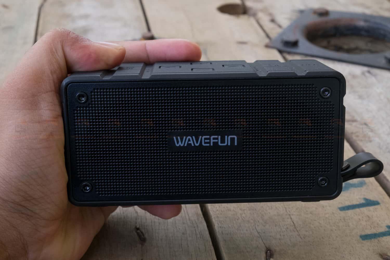 ลำโพงบลูทูธ 10W Wavefun Cuboid Bluetooth Speaker พกพา กันน้ำ ราคาถูก เสียงดี-10