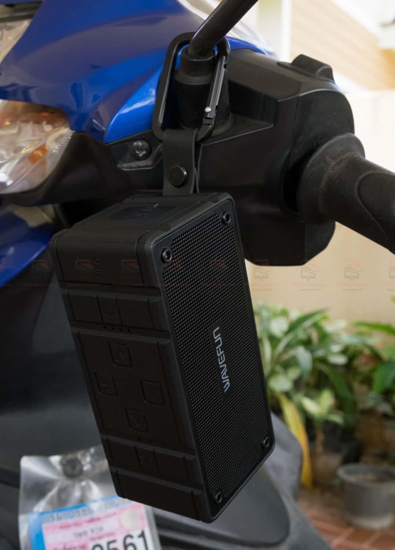 ลำโพงบลูทูธ 10W Wavefun Cuboid Bluetooth Speaker พกพา กันน้ำ ราคาถูก เสียงดี-11