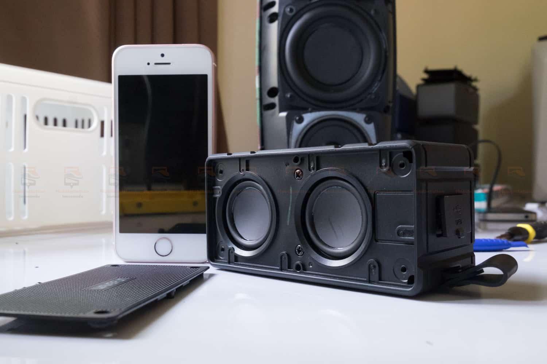 ลำโพงบลูทูธ 10W Wavefun Cuboid Bluetooth Speaker พกพา กันน้ำ ราคาถูก เสียงดี-18