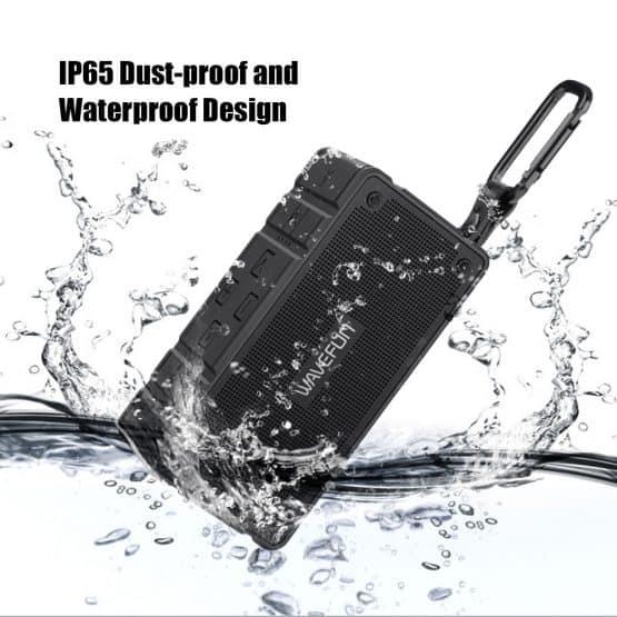 ลำโพงบลูทูธ 10W Wavefun Cuboid Bluetooth Speaker พกพา กันน้ำ ราคาถูก เสียงดี-2-2