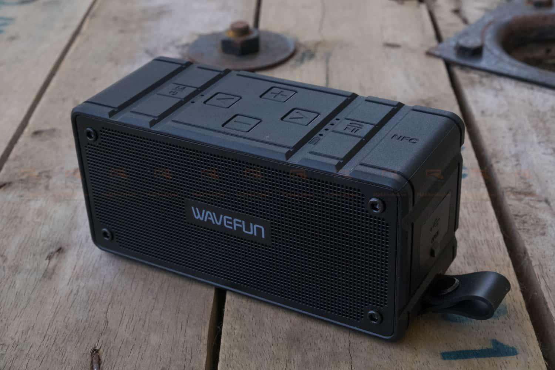 ลำโพงบลูทูธ 10W Wavefun Cuboid Bluetooth Speaker พกพา กันน้ำ ราคาถูก เสียงดี-4