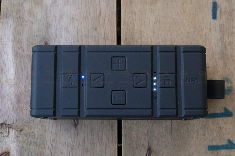 ลำโพงบลูทูธ 10W Wavefun Cuboid Bluetooth Speaker พกพา กันน้ำ ราคาถูก เสียงดี-5