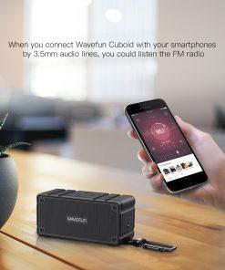 ลำโพงบลูทูธ 10W Wavefun Cuboid Bluetooth Speaker พกพา กันน้ำ ราคาถูก เสียงดี-6-6