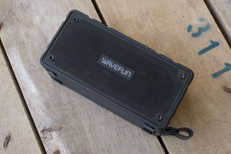 ลำโพงบลูทูธ 10W Wavefun Cuboid Bluetooth Speaker พกพา กันน้ำ ราคาถูก เสียงดี-9