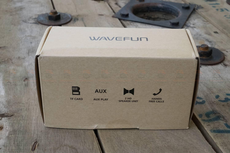 ลำโพงบลูทูธ 10W Wavefun Cuboid Bluetooth Speaker พกพา กันน้ำ ราคาถูก เสียงดี