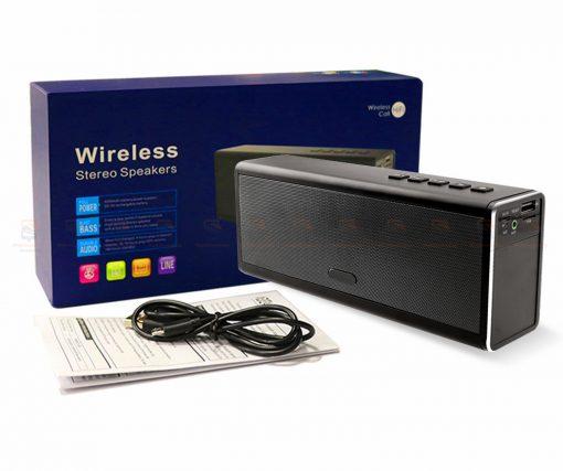 ลำโพงบลูทูธ 20W HIFI Wireless Stereo Super Bass Metal Bluetooth Speaker Detail-10