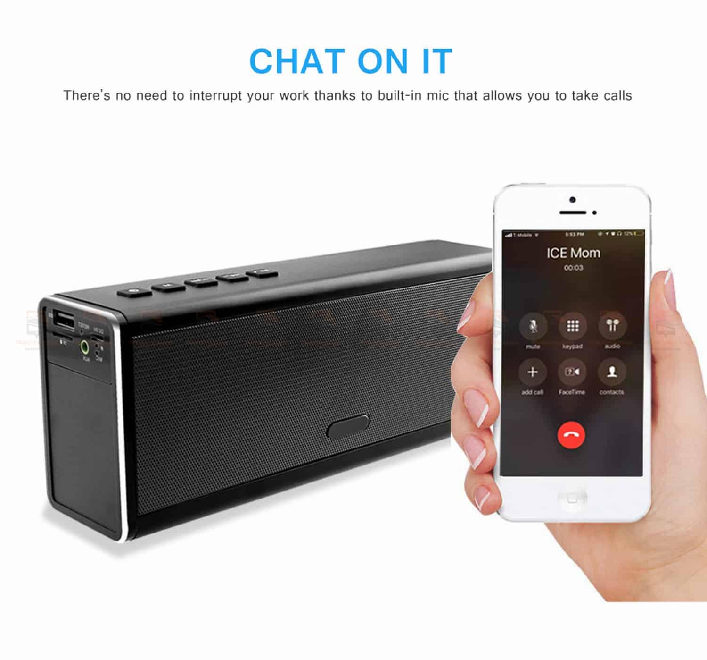 ลำโพงบลูทูธ 20W HIFI Wireless Stereo Super Bass Metal Bluetooth Speaker Detail-7