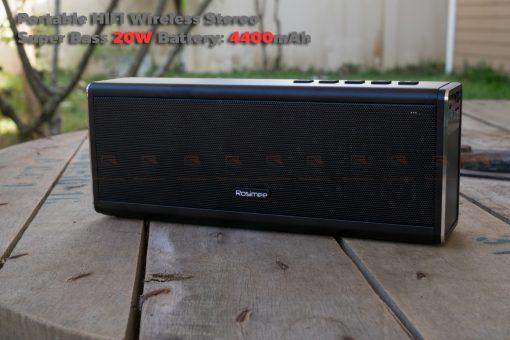 ลำโพง Bluetooth 20W HIFI Wireless Stereo Super Bass Metal Bluetooth Speaker-10