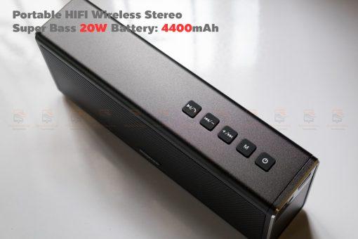 ลำโพง Bluetooth 20W HIFI Wireless Stereo Super Bass Metal Bluetooth Speaker-2