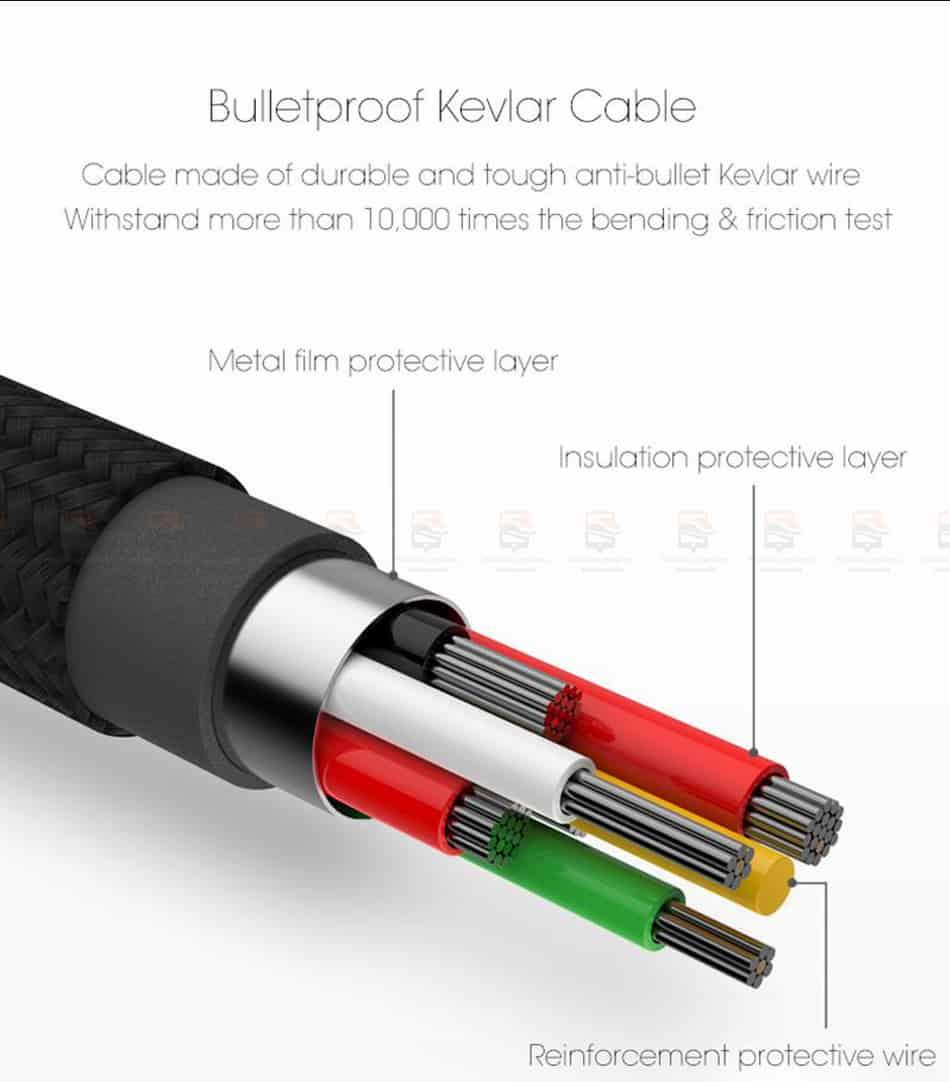 สายชาร์จไอโฟน Baseus LED Lighting USB Cable For iPhone X 8 6 7 Fast Charging Cable-9