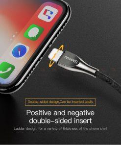 สายชาร์จไอโฟน Baseus Zinc Alloy USB Cable For iPhone X 8 7 6 5 Fast Charging Charger Cable 13