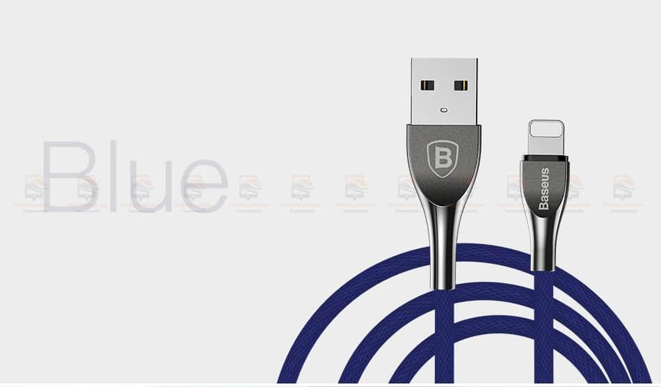สายชาร์จไอโฟน Baseus Zinc Alloy USB Cable For iPhone X 8 7 6 5 Fast Charging Charger Cable 17