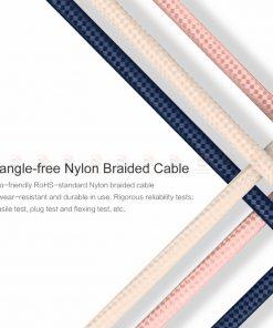 สายชาร์จไอโฟน ROCK For IPhone Cable IOS 11 10 9 For Fast Charger Lighting to USB Cables Charging 2.1A รายละเอียด-9