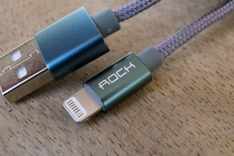 สายชาร์จไอโฟน ROCK For IPhone Cable IOS 11 10 9 For Fast Charger Lighting to USB Cables Charging 2.1A