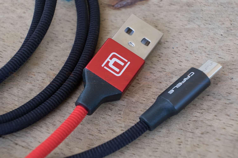 สายชาร์จ ซัมซุง Android Cafele Micro USB Cable Fast Charge-9