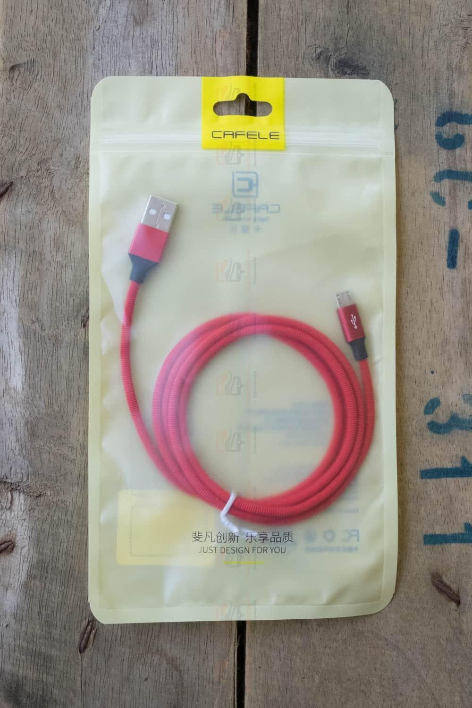 สายชาร์จ ซัมซุง Android Cafele Micro USB Cable Fast Charge