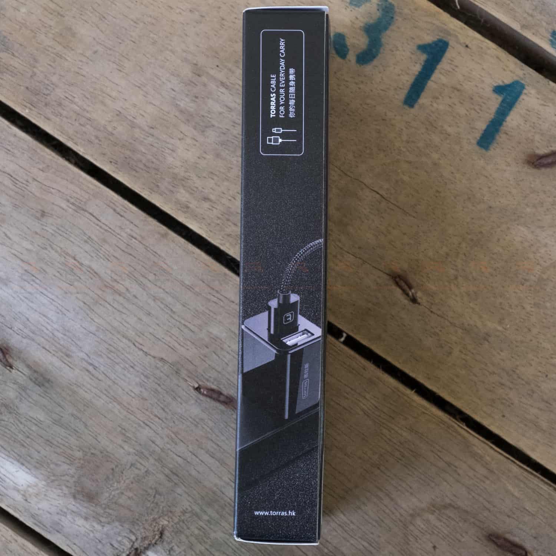 สายชาร์จ ซัมซุง Android TORRAS Micro USB Cable Gold Plated Fast Charge USB Cable Charging Nylon Braided Data Cable-4