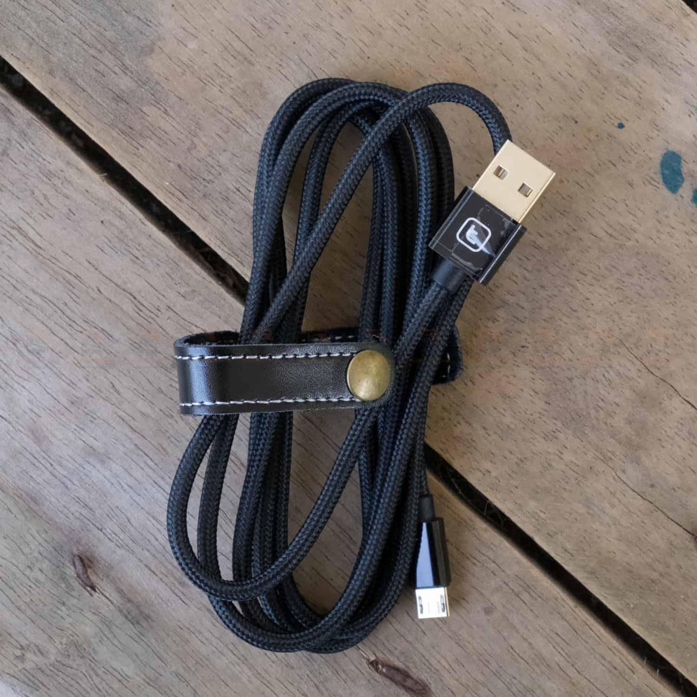 สายชาร์จ ซัมซุง Android TORRAS Micro USB Cable Gold Plated Fast Charge USB Cable Charging Nylon Braided Data Cable-8