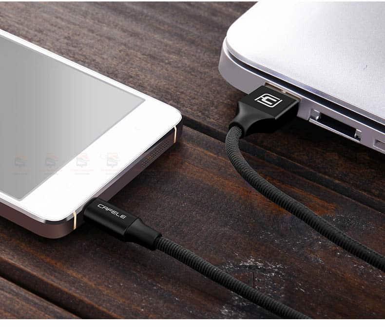 สายชาร์จ Samsung Android Cafele Micro USB Cable Fast Charge_12