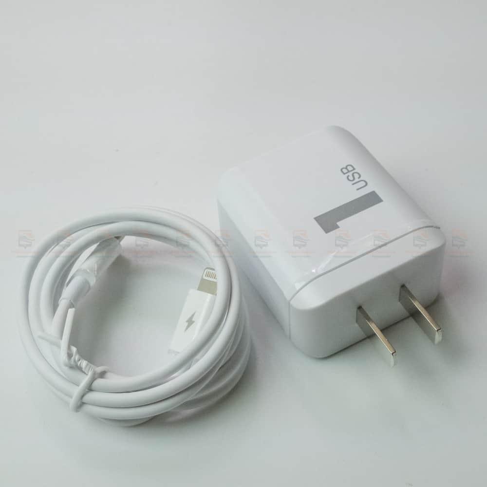 ที่ชาร์จแบต ROCK PD Fast Charger Set for iPhone X 8 Plus With Type C to Lighting Cable สินค้าจริง-6