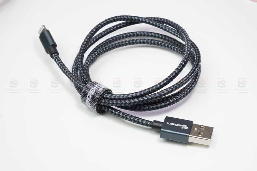 สายชาร์จไอโฟน Tiegem Tanpow Series USB Charger Cable for iPhone X-7-8-6-5 Cable Fast Charger สินค้าจริง-9