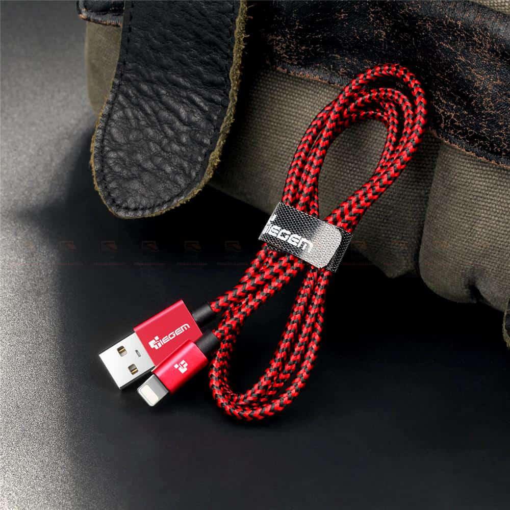 สายชาร์จไอโฟน Tiegem Tanpow Series USB Charger Cable for iPhone X-7-8-6-5 Cable Fast Charger 19