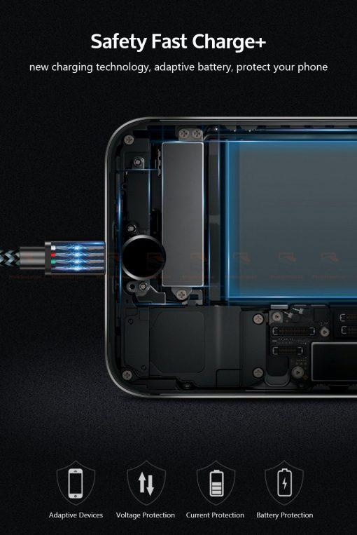 สายชาร์จไอโฟน Tiegem Tanpow Series USB Charger Cable for iPhone X-7-8-6-5 Cable Fast Charger 2