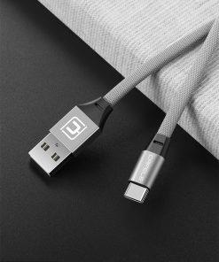 สายชาร์จ Type C Cafele USB Cable Fast Charging Data Cable for Samsung Galaxy S8S8+,HTC,LG,Huawei,Sony,New Macbook,GoPro5 30Cm-11