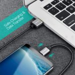สายชาร์จ Type C Ugreen Nylon USB Cable for Xiaomi Mi5 Type-C Fast Charging Data Cable for Samsung Galaxy S8 Nexus 5X 6P OnePlus 2 USB C-6