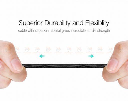 สายชาร์จ Type C Ugreen Nylon USB Cable for Xiaomi Mi5 Type-C Fast Charging Data Cable for Samsung Galaxy S8 Nexus 5X 6P OnePlus 2 USB C-9