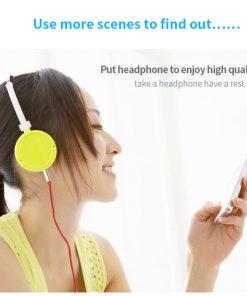 สาย Aux Cable 3.5mm Vention Jack Audio Cable 24k Gold-plated for iPhone Car Headphone Speaker ยาว 1.5 เมตร-5