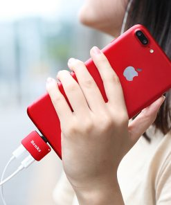 Lightning Adapter แยก 1 เป็น 2 ฟังเพลง พร้อมชาร์จ Benks แท้ For iPhone 7 8 X 10 -10