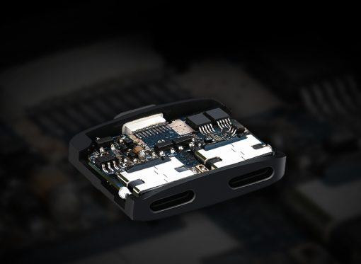 Lightning Adapter แยก 1 เป็น 2 ฟังเพลง พร้อมชาร์จ Benks แท้ For iPhone 7 8 X 10 -4