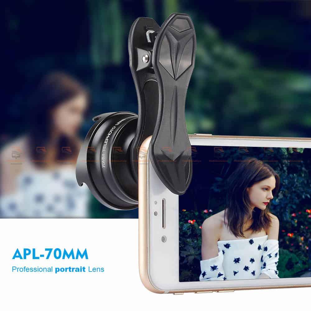 เลนส์มือถือ หน้าชัดหลังเบลอ APEXEL Professional phone Lens HD bokeh portrait-01