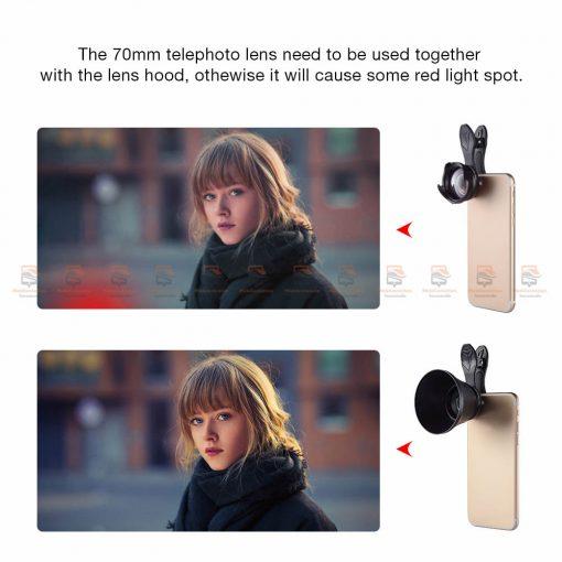 เลนส์มือถือ หน้าชัดหลังเบลอ APEXEL Professional phone Lens HD bokeh portrait-03