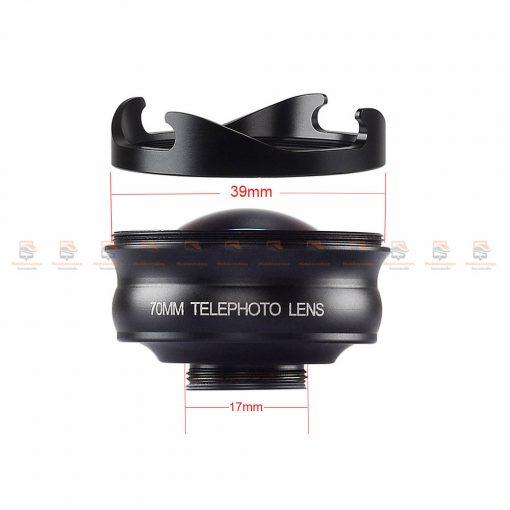 เลนส์มือถือ หน้าชัดหลังเบลอ APEXEL Professional phone Lens HD bokeh portrait-06