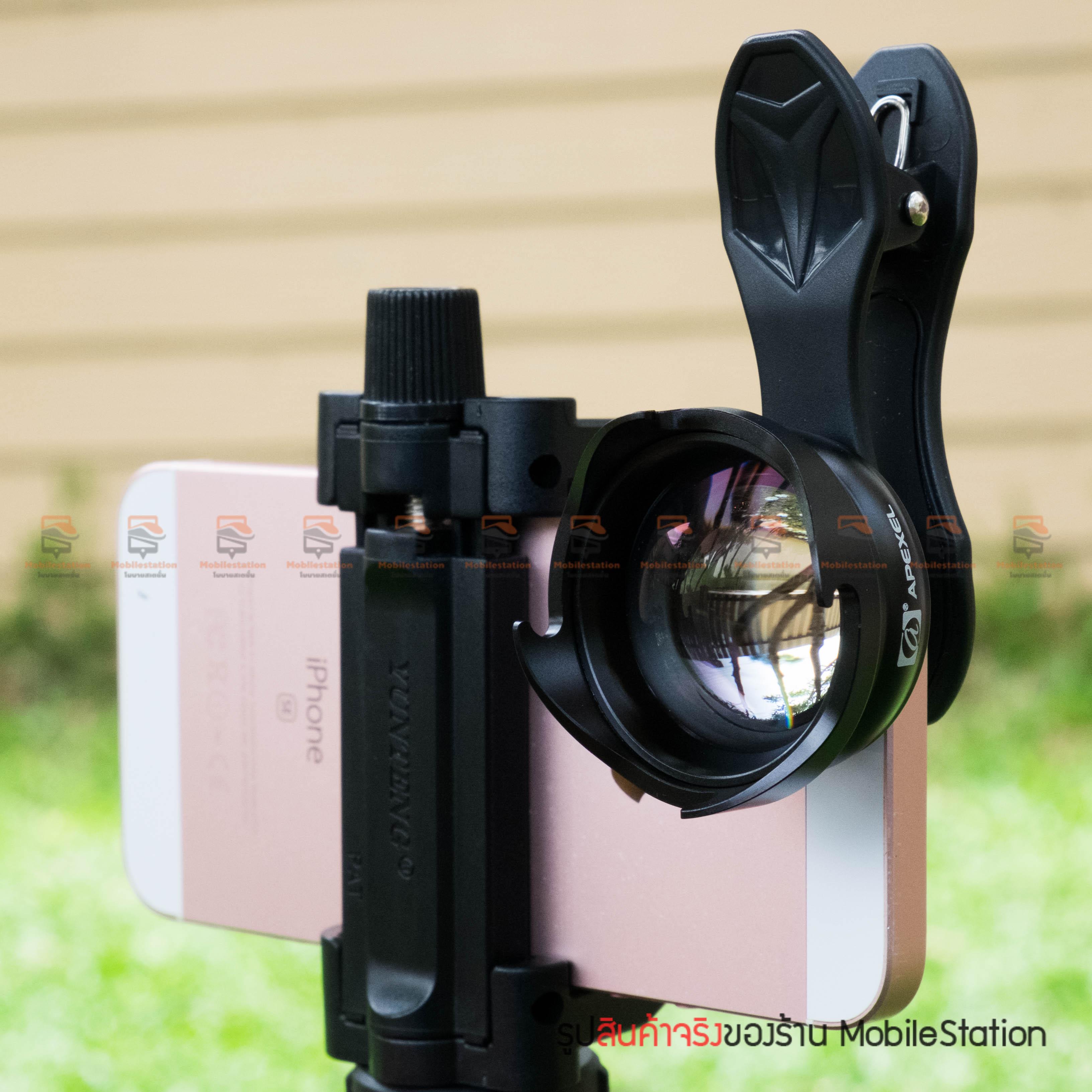 เลนส์มือถือ หน้าชัดหลังเบลอ APEXEL Professional phone Lens Portrait lens-16