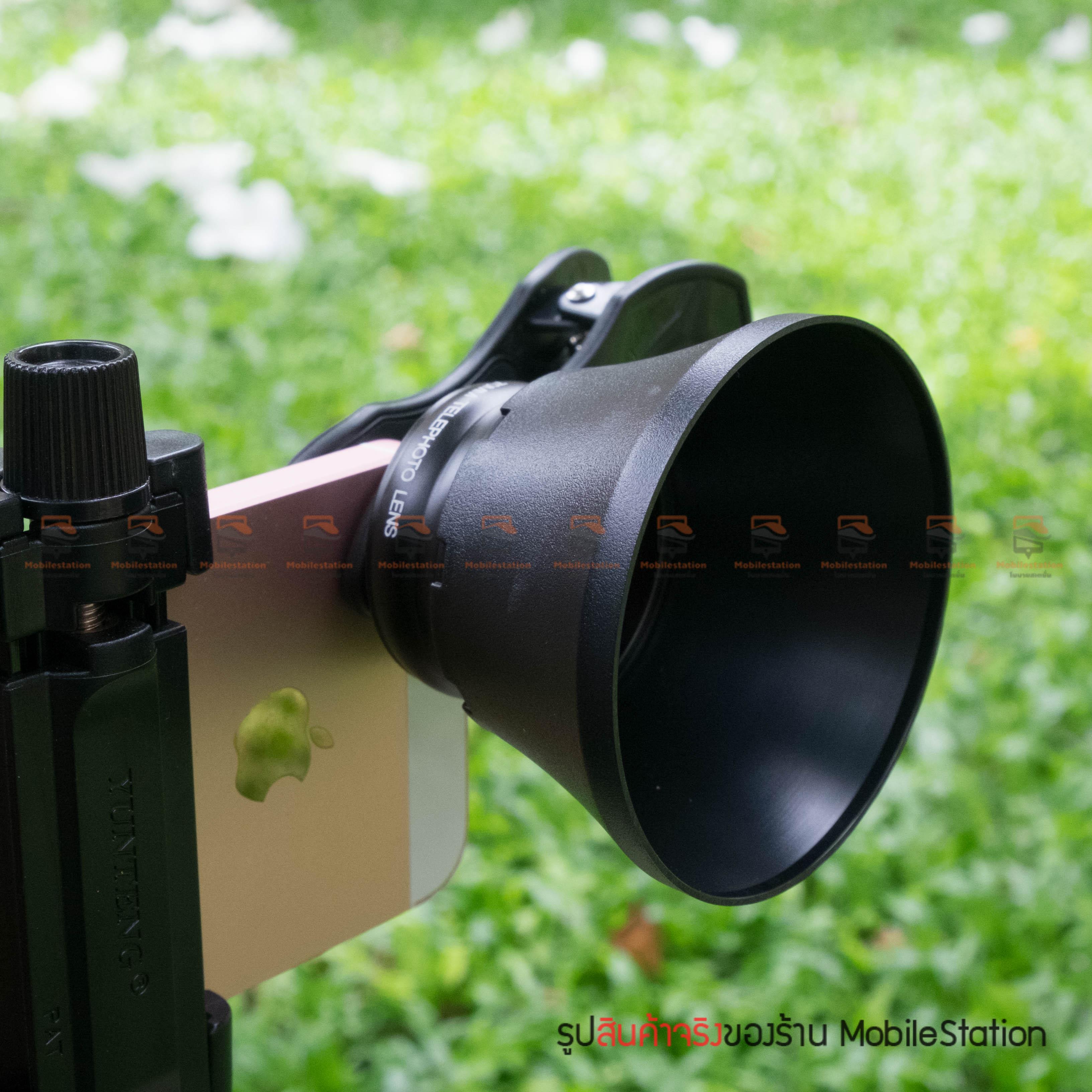 เลนส์มือถือ หน้าชัดหลังเบลอ APEXEL Professional phone Lens Portrait lens-22