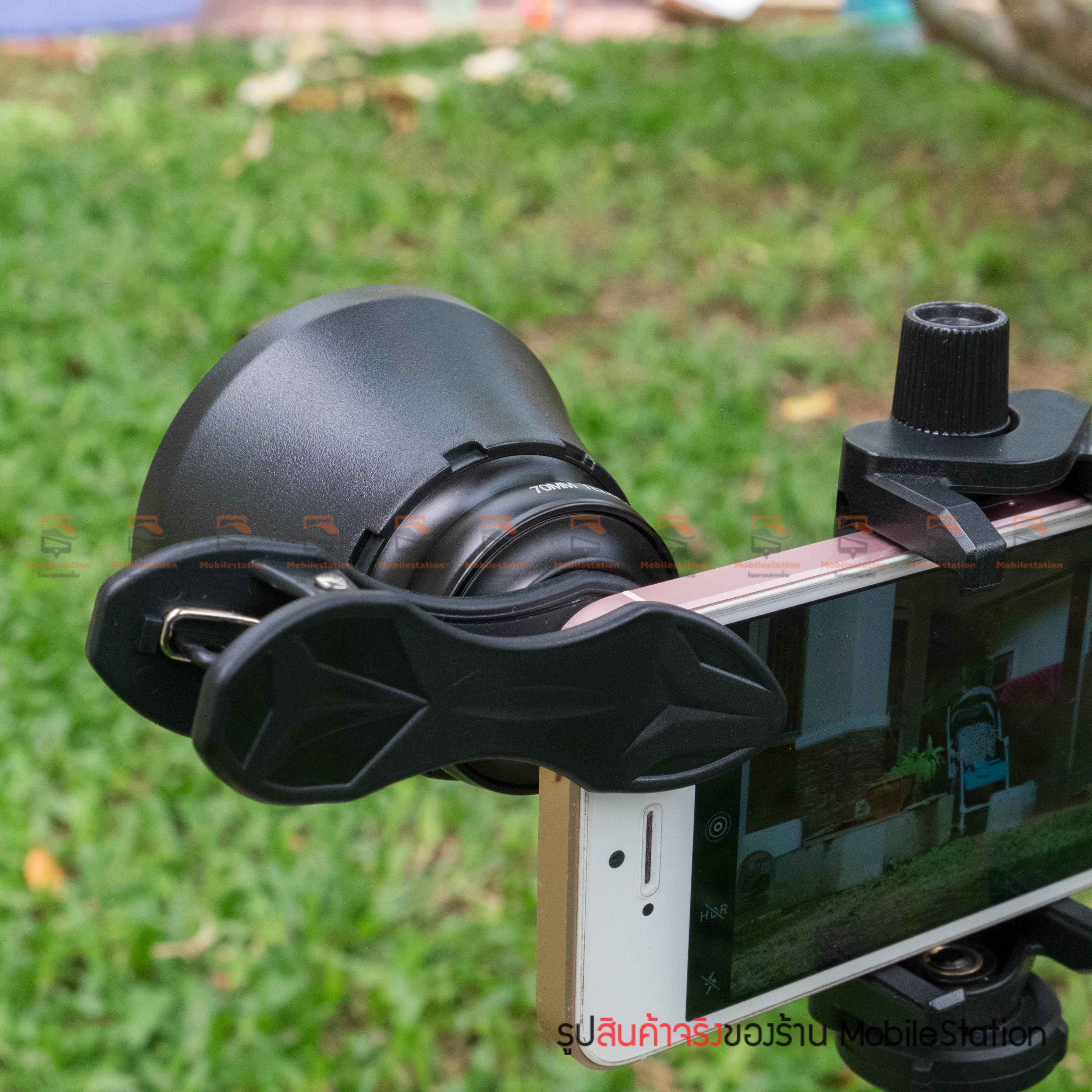 เลนส์มือถือ หน้าชัดหลังเบลอ APEXEL Professional phone Lens Portrait lens-25