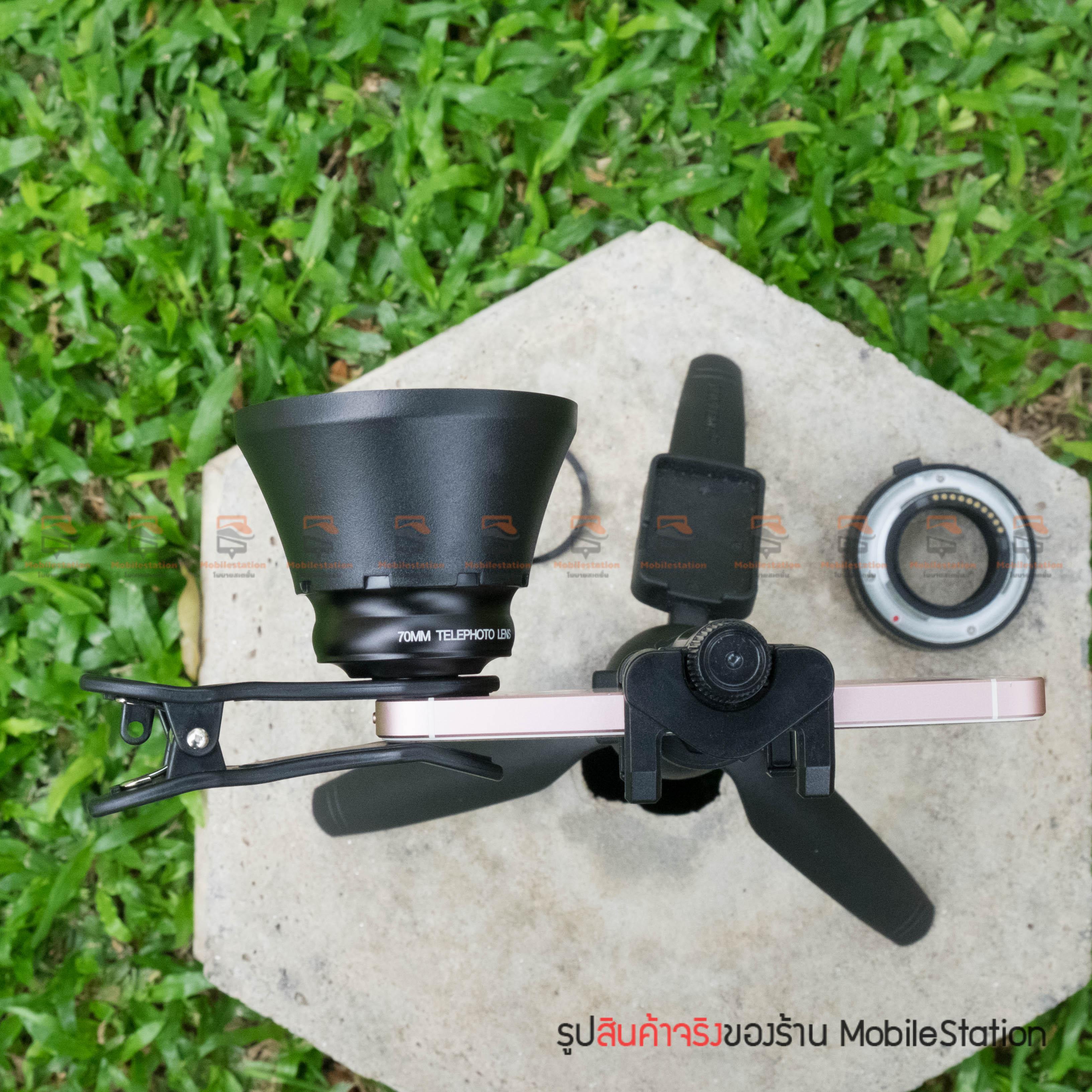 เลนส์มือถือ หน้าชัดหลังเบลอ APEXEL Professional phone Lens Portrait lens-26
