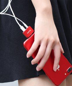 Lightning audio adapter แยก 1 เป็น 2 ฟังเพลง พร้อมชาร์จ Benks แท้ For iPhone 7 8 X_10
