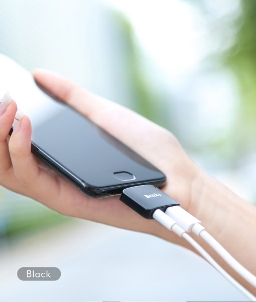 Type-C Aux Audio Cable Adapter USB Type C to 3.5mm ชาร์จแบต พร้อมฟังเพลง Benks_8
