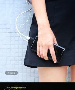 Type-C Aux Audio Cable Adapter USB Type C to 3.5mm ชาร์จแบต พร้อมฟังเพลง Benks_9