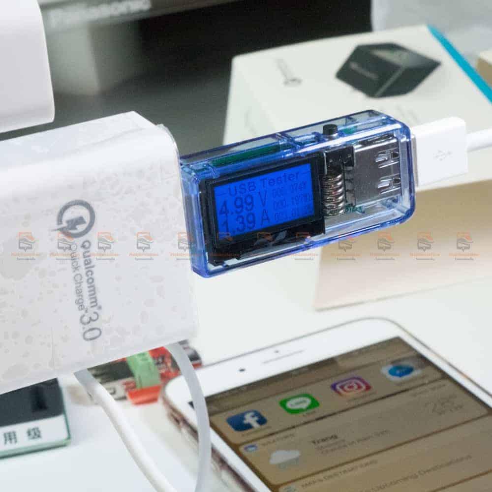 ที่ชาร์จแบต TIEGEM Quick Charge 3.0 USB Adapter 18W for Samsung iphone android-11