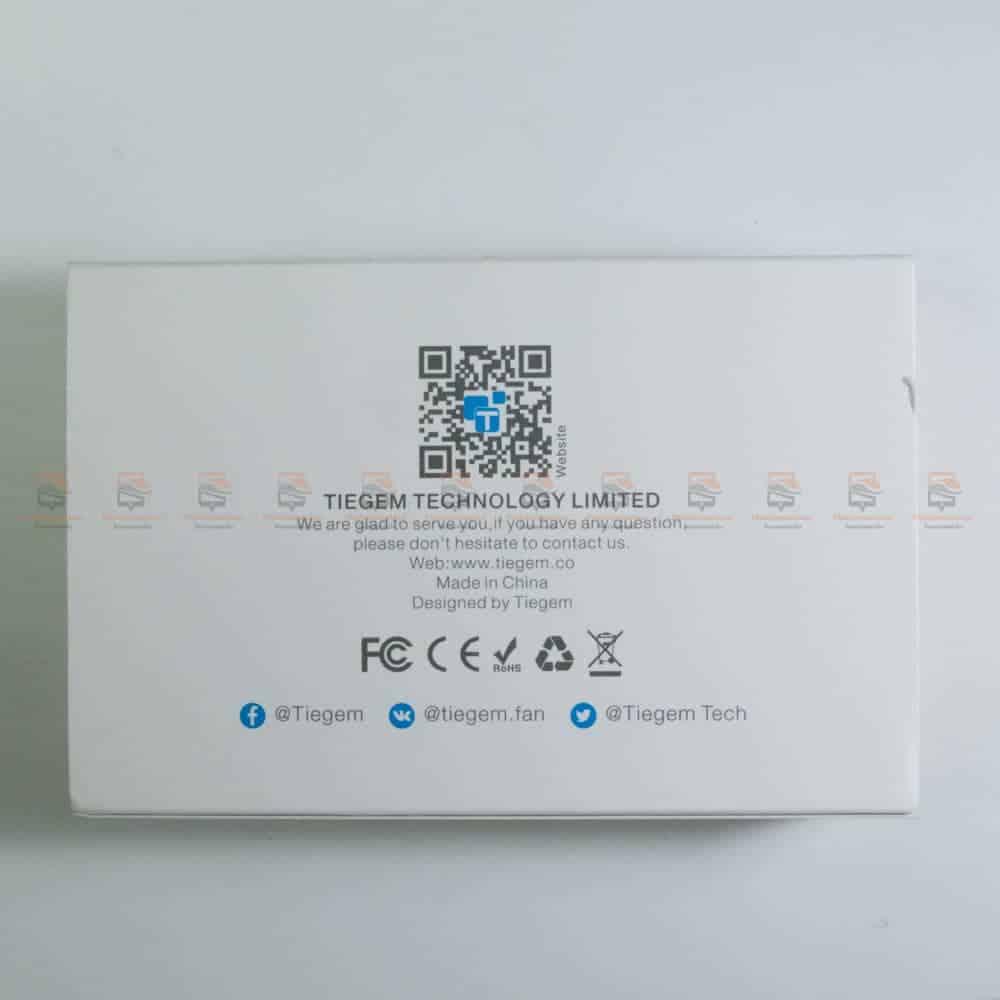 ที่ชาร์จแบต TIEGEM Quick Charge 3.0 USB Adapter 18W for Samsung iphone android-2