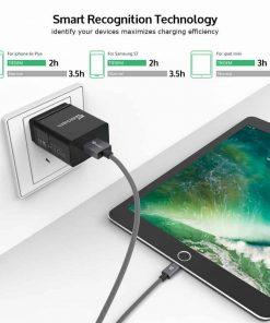 ที่ชาร์จแบต TIEGEM Quick Charge 3.0 USB Adapter 18W for Samsung iphone android 3