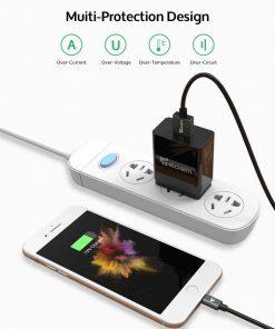ที่ชาร์จแบต TIEGEM Quick Charge 3.0 USB Adapter 18W for Samsung iphone android 5