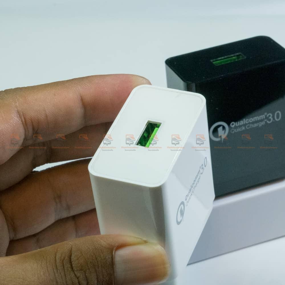 ที่ชาร์จแบต TIEGEM Quick Charge 3.0 USB Adapter 18W for Samsung iphone android-6
